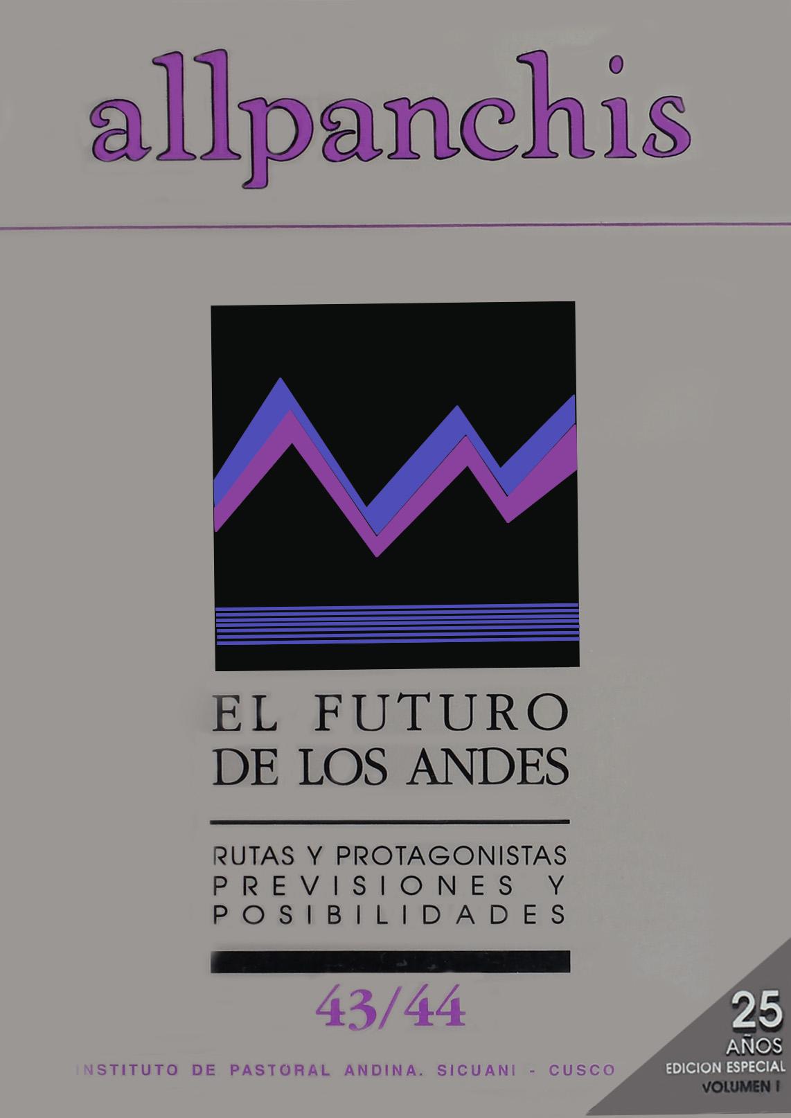 Allpanchis 43/44, vol. 2 (carátula)