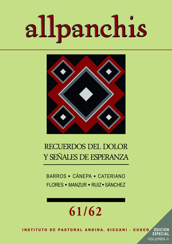 Allpanchis 61/62 Volumen II